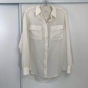 Equipment Silk Button Down Blouse ❣️